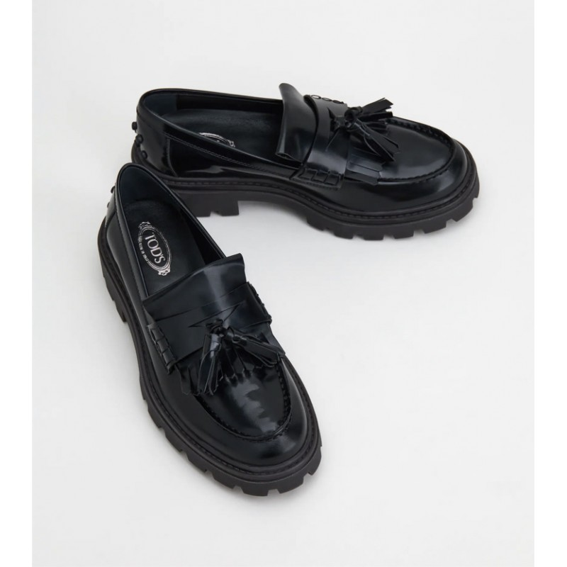 Tods donna -  Mocassino in pelle W08J0EY30SHA999 - Nero