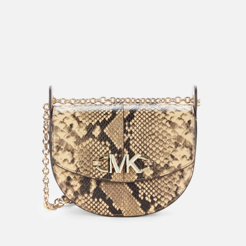 MICHAEL by MICHAEL KORS - Borsa a Tracolla in Pelle IZZY - Camel