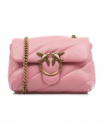 PINKO - Bag LOVE MINI PUFF MAXI  QUILT - Pink