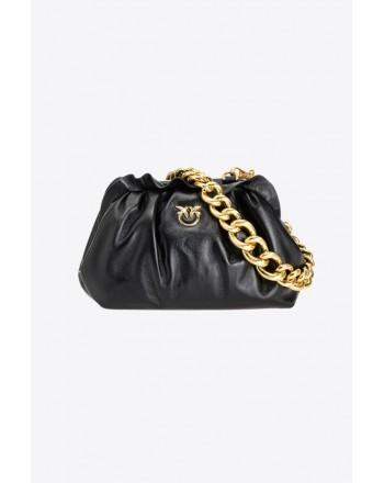 PINKO - Bag MINI CHAIN CLUTCH FRAMED 5 CL - Black