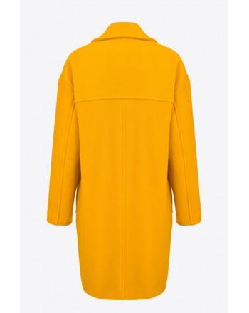 PINKO - Coat ACARIGUA - Yellow