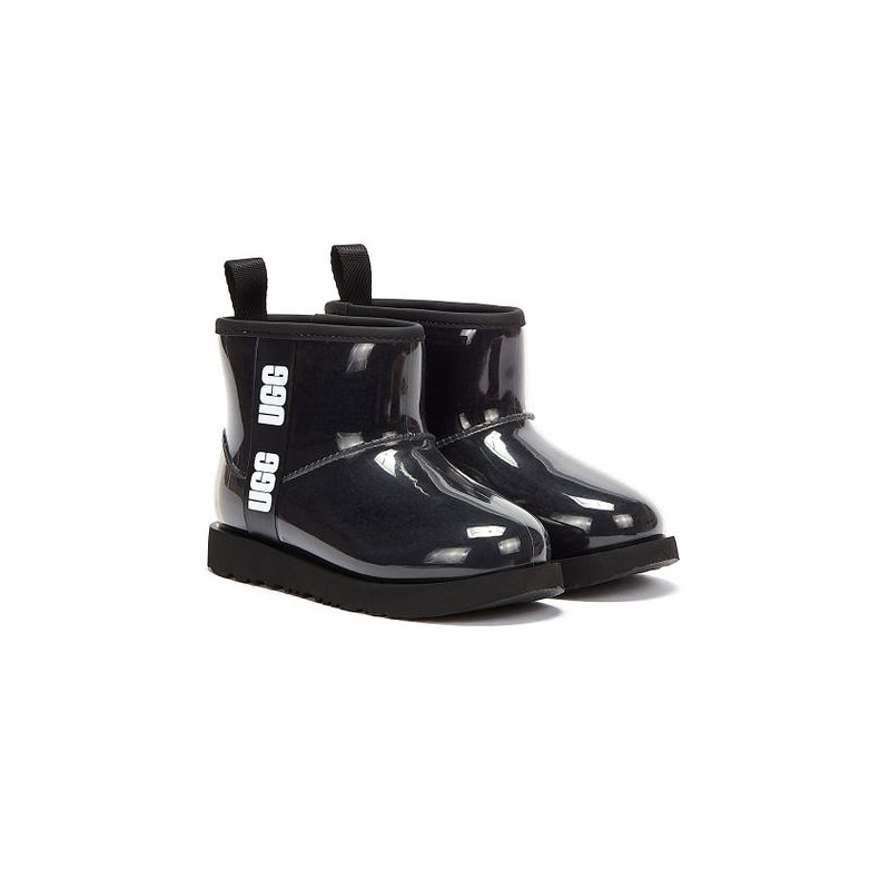 Ugg donna -  Classic clear mini UGSCLCLEMBK1113190 - Nero