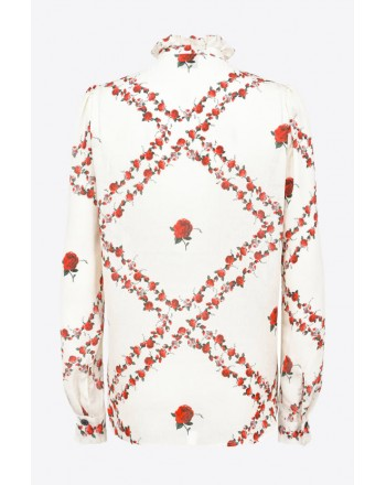 PINKO - Shirt GUANDACOL - White / Red