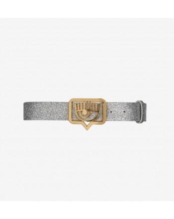CHIARA FERRAGNI - Cintura Glitter - Argento