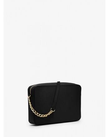MICHAEL by MICHAEL KORS - CROSSBODY Leather Shoulder Bag - Black