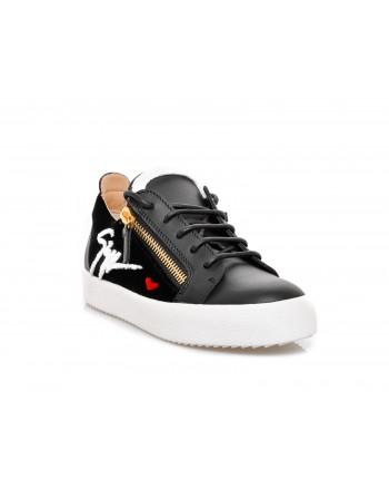 GIUSEPPE ZANOTTI - Sneakers GAIL SIGNATURE - Black