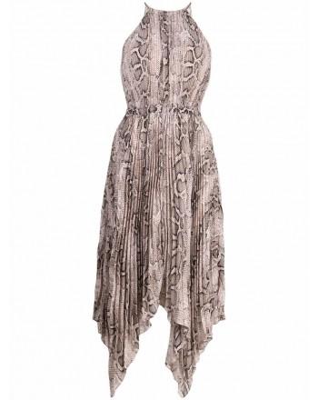 MICHAEL by MICHAEL KORS - Piton Patterned Dress - Dune
