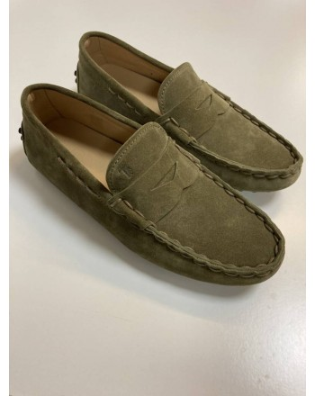 Tods uomo -  Rubber moccasin - Military
