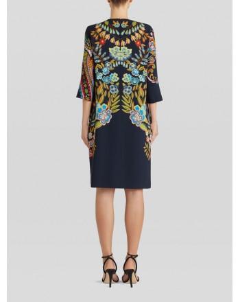 ETRO - Flower Paisley Printed Dress - Black/Multicolor