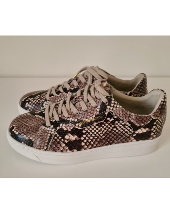 MICHAEL by MICHAEL KORS - Sneakers KEATING LACE UP Stampa Pitone  - Natural