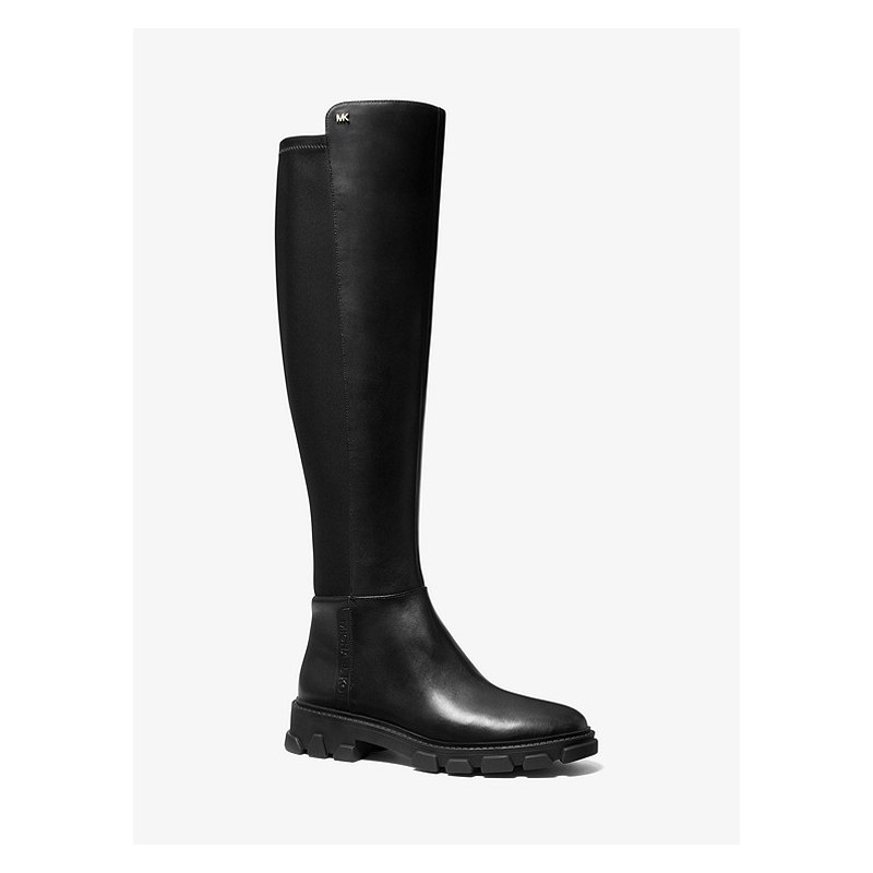 MICHAEL by MICHAEL KORS - RIDLEY Leather High Boots - Black
