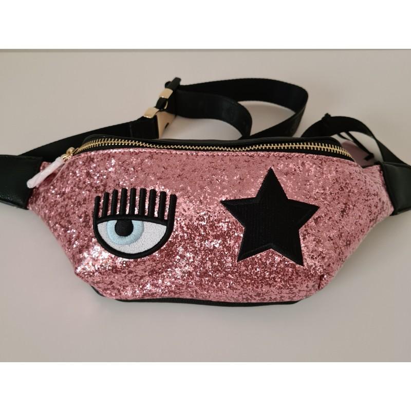 CHIARA FERRAGNI -Marsupio EYE STAR - Pink