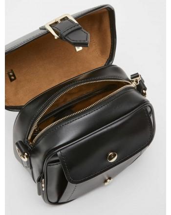 MAX MARA - ANNAS1 Leather BAG - Black