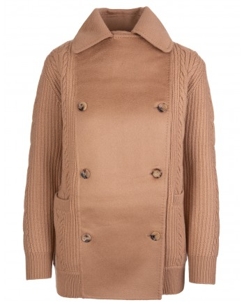 MAX MARA - RUMENA Wool and Cashmere Coat - Camel