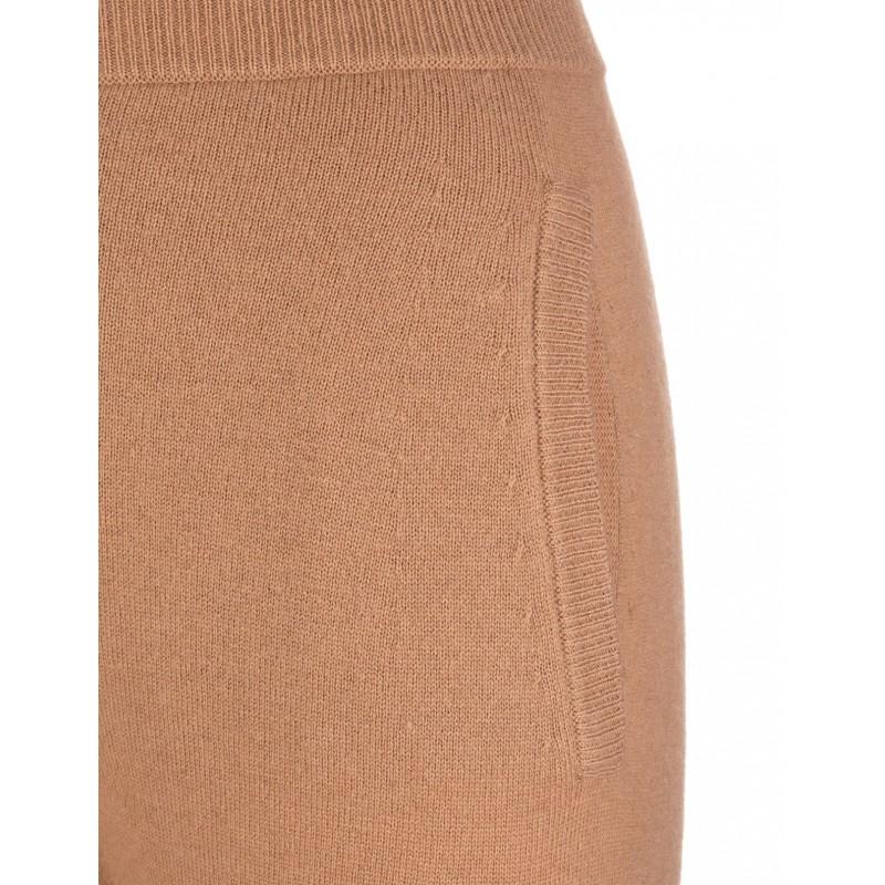 MAX MARA - Pantalone in Lana e Cashmere DELTA - Cammello