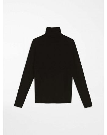 MAX MARA - SALUTO  Wool Turtleneck Knit - Black