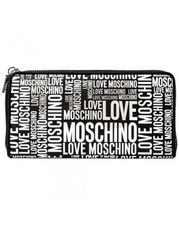 LOVE MOSCHINO - Portafogli JC5632PP1D - Nero/bianco