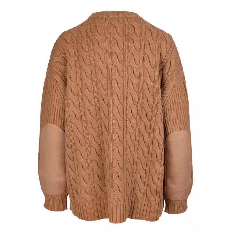 MAX MARA - CANNES Roundneck Knit - Camel
