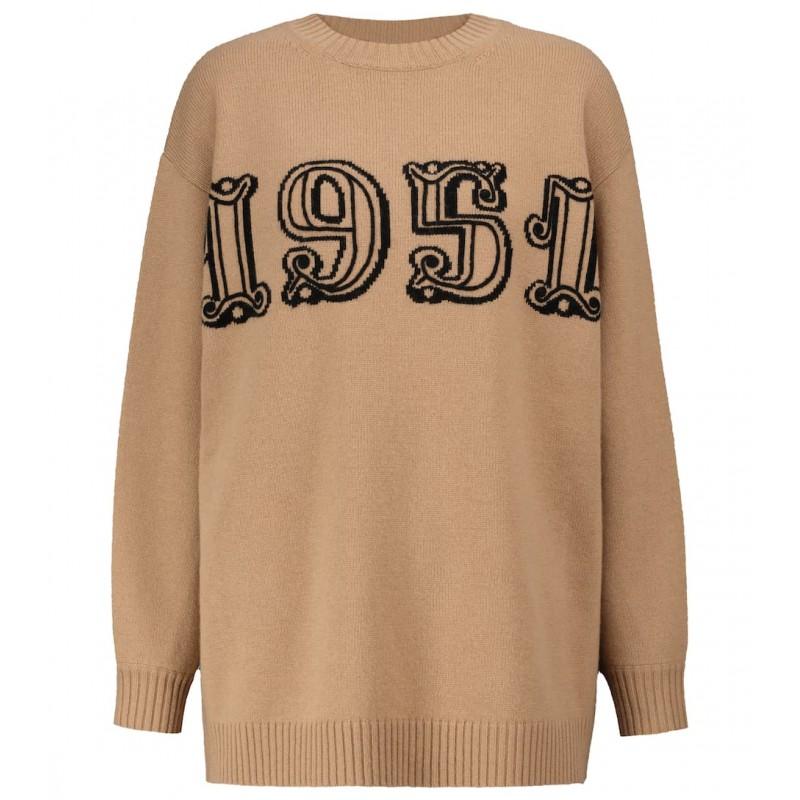 MAX MARA - TIRRENO Anniversary Pullover Knit - Camel
