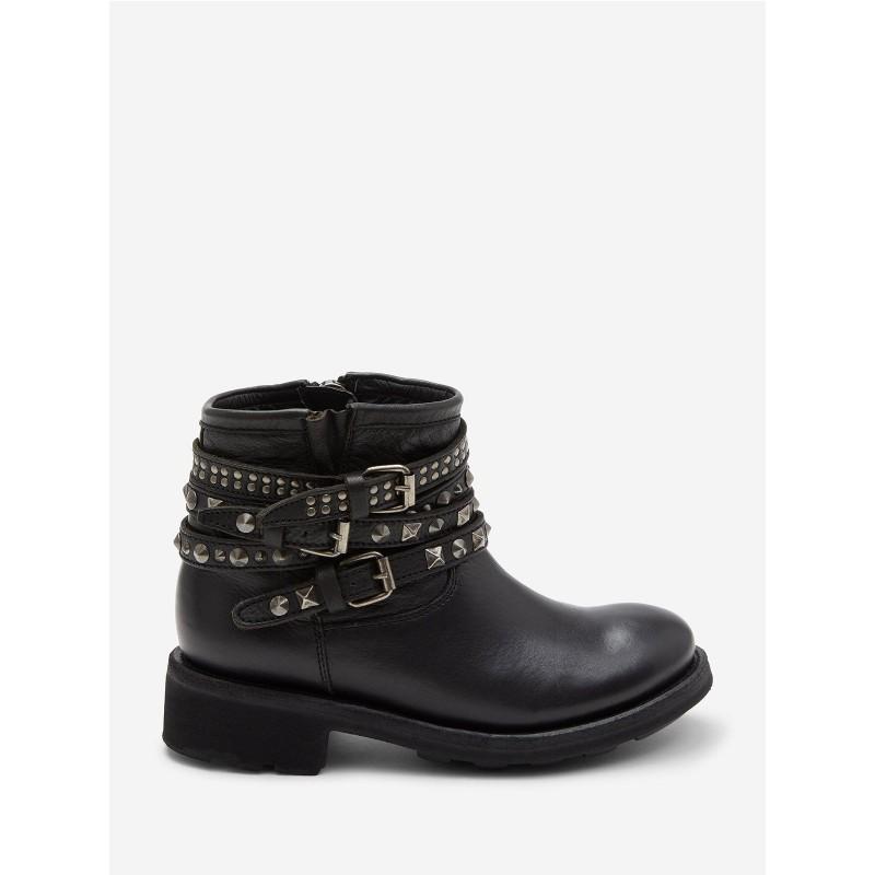 ASH - Combo boot TATUM01 - Black