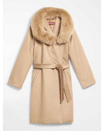 MAX MARA STUDIO  -  Wool Coat MANGO - Camel