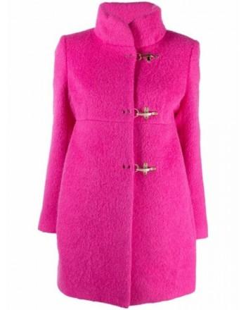 FAY - ROMANTIC Wool Coat - Fuchsia