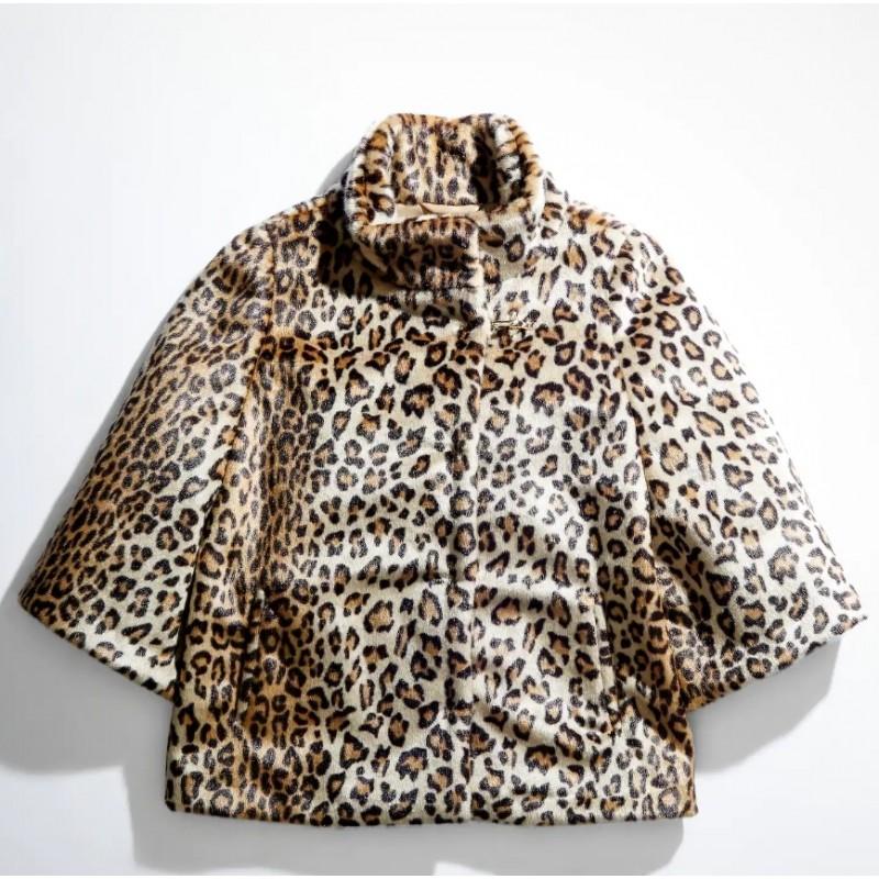 FAY - Faux Fur Cap - Animalier