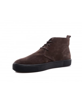 TOD'S - Ankle boots in suede leather - Brown