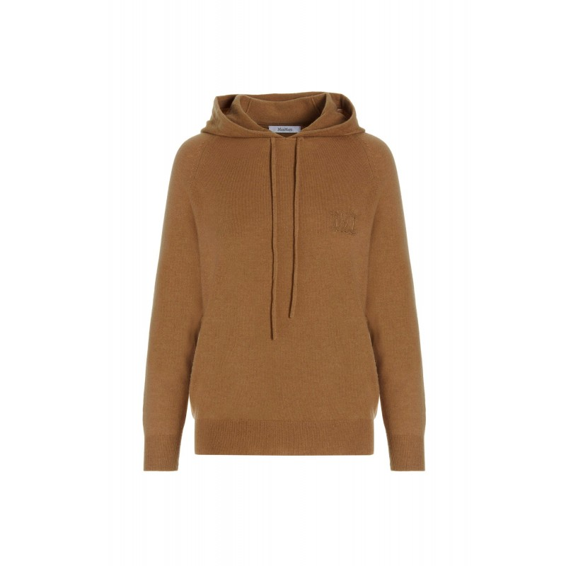 MAX MARA - CADEN Wool and Cashmere Knit - Camel