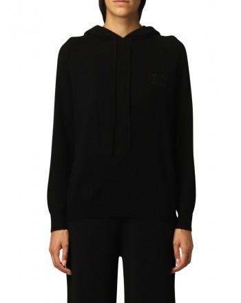 MAX MARA - CADEN Wool and Cashmere Knit - Black