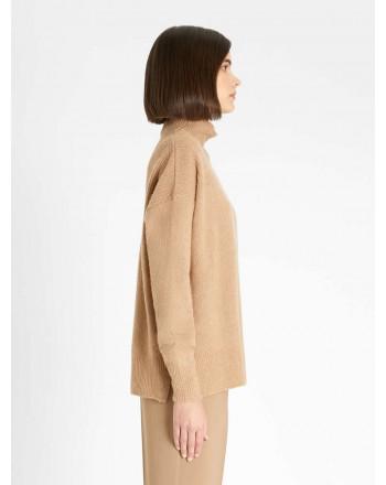 MAX MARA STUDIO - CIPPO Wool Knit - Camel
