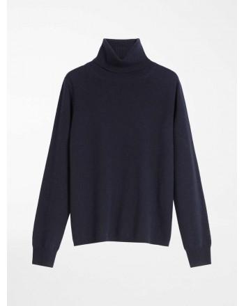 MAX MARA STUDIO - PIOPPO Wool and Cashmere Yarn Knit - Blue