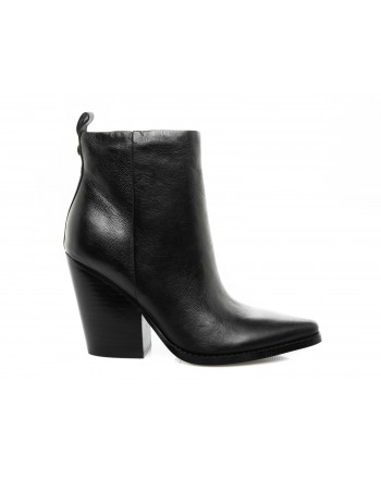 KENDALL+KYLIE - Leather Half Boot - Black
