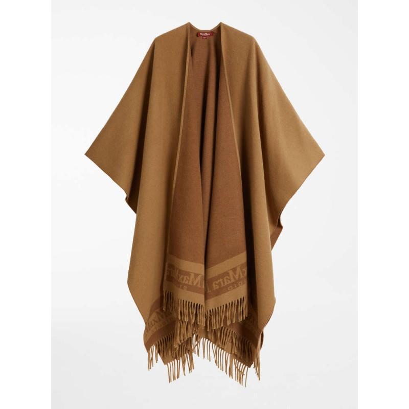 MAX MARA STUDIO  - PATRONI  Wool Cape - Camel