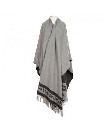 MAX MARA STUDIO  - PATRONI  Wool Cape - Grey