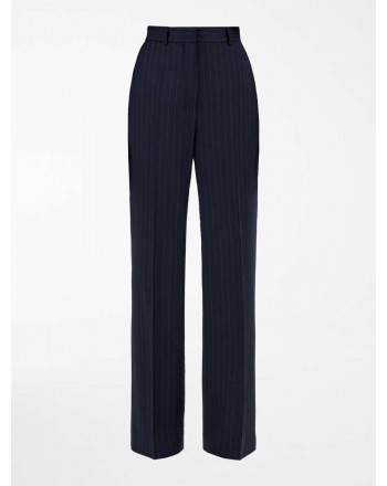 MAX MARA STUDIO - EDDY Wool Flannel Trousers - Black