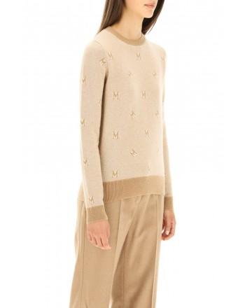 MAX MARA - PANARO Wool and Cashmere Roundneck Knit - White