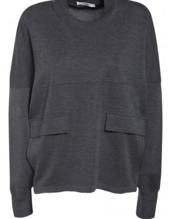 MAX MARA - XIRIA Wool Knit - Black