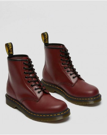 DR. MARTENS -  Stivale Smooth 1460 11822006 - Cherry Red