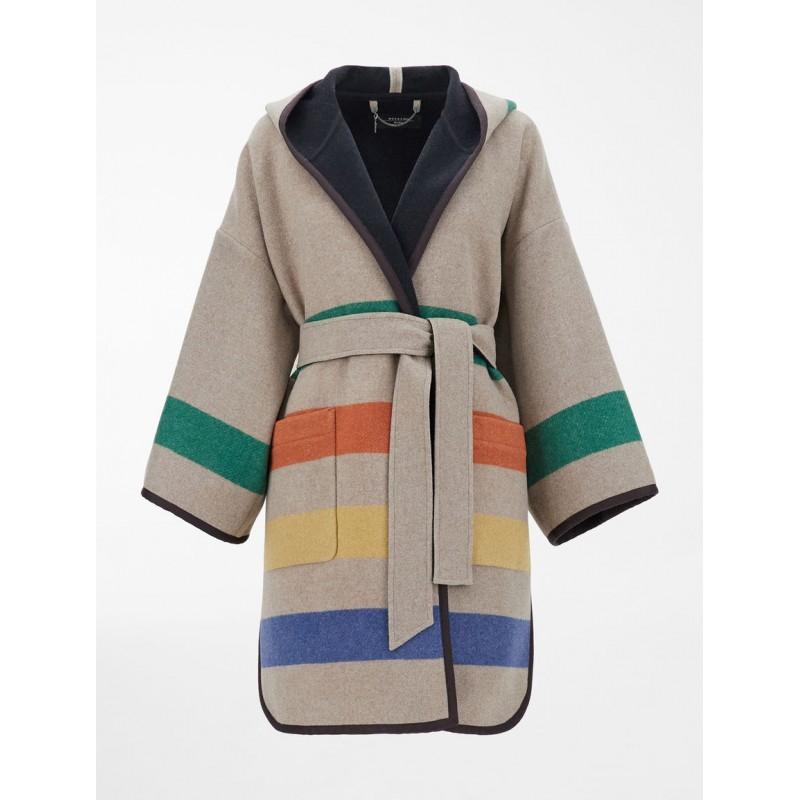 WEEKEND MAX MARA . LINZ Blnded Wool Coat - Cacha