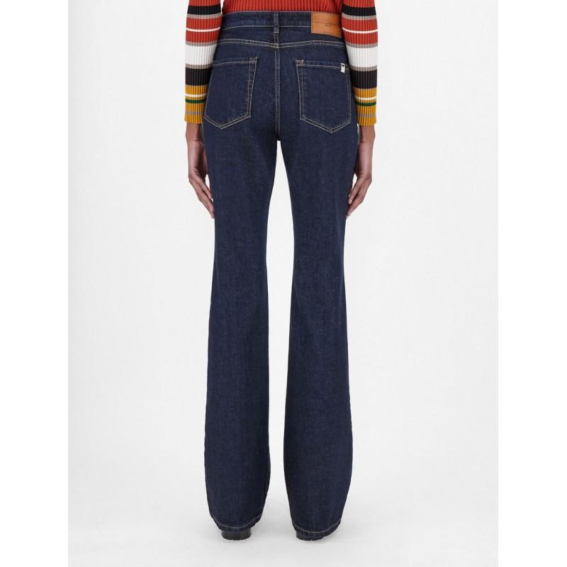 WEEKEND MAX MARA - MEDEA Flare Jeans - Dark Denim