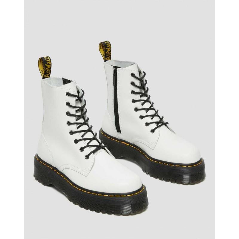 DR. MARTENS - Jadon Polished Boots 15265100 - White