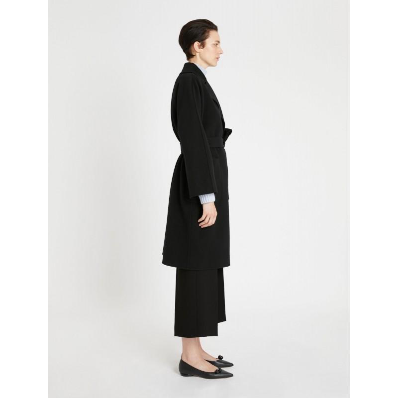WEEKEND MAX MARA - ROVO Wool Coat - Black