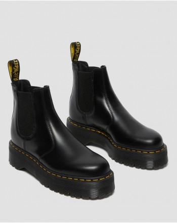 DR. MARTENS - Polished boot 2976 24687001 - Black