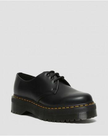 DR. MARTENS - Quad Polished low shoe 1461 25567001 - Black