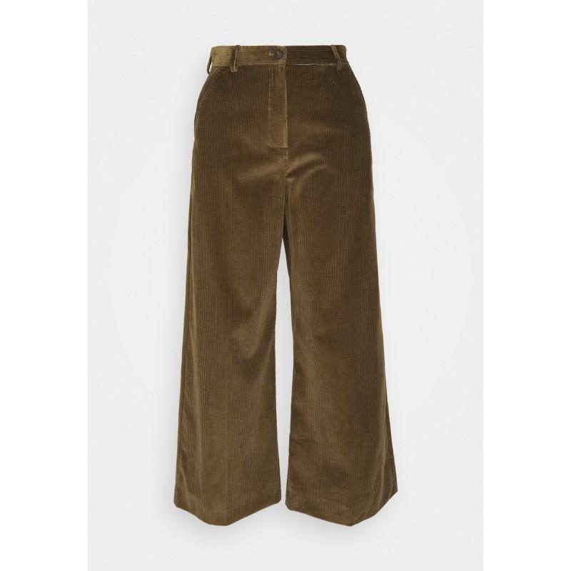 WEEKEND MAX MARA - TOBIA Velvet Trousers - Mud