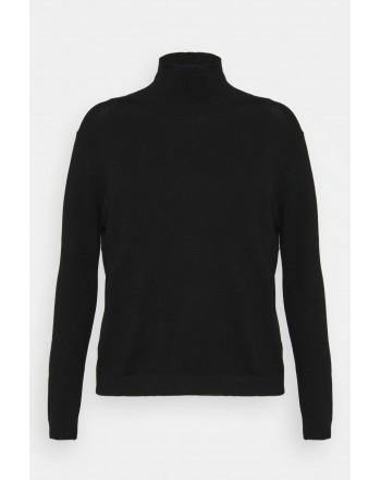 WEEKEND MAX MARA - JUST Silk and Wool Knit - Black
