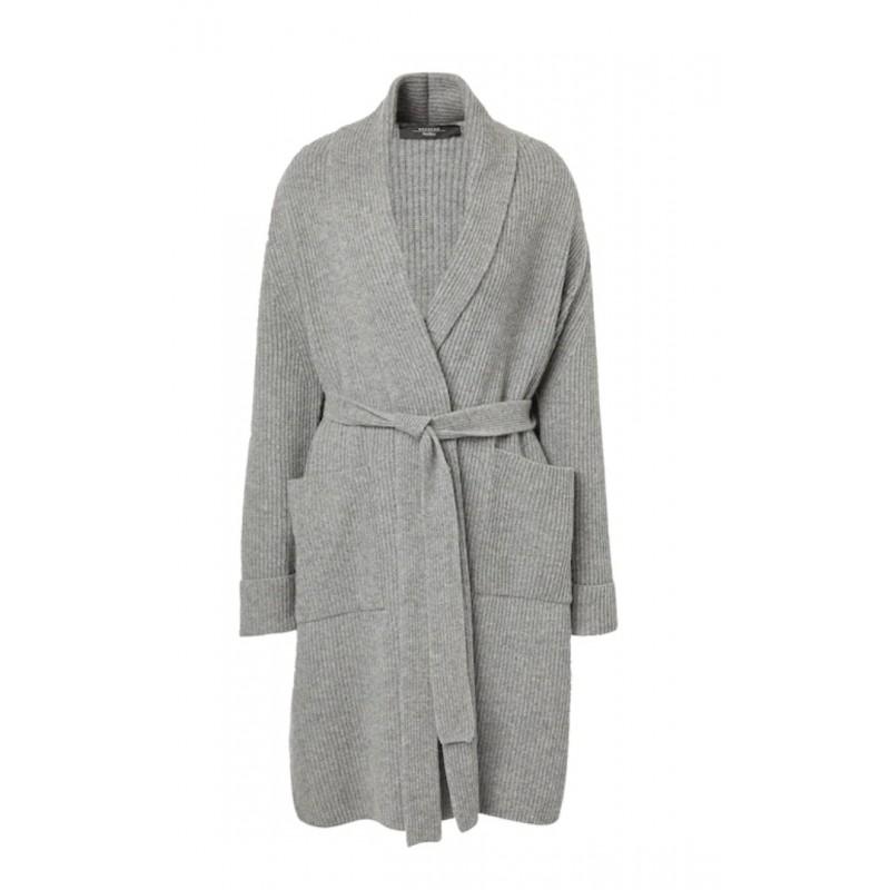 WEEKEND MAX MARA -  AGAMIA Wool Coat - Grey