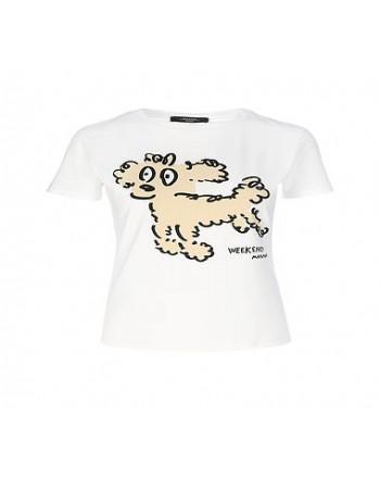 WEEKEND MAX MARA - RANA Printed T-Shirt - Poodle