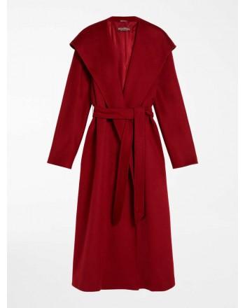 MAX MARA STUDIO - DANTON Cashmere Coat - Red